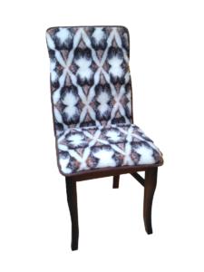 Nakładka krzesło brąz metro